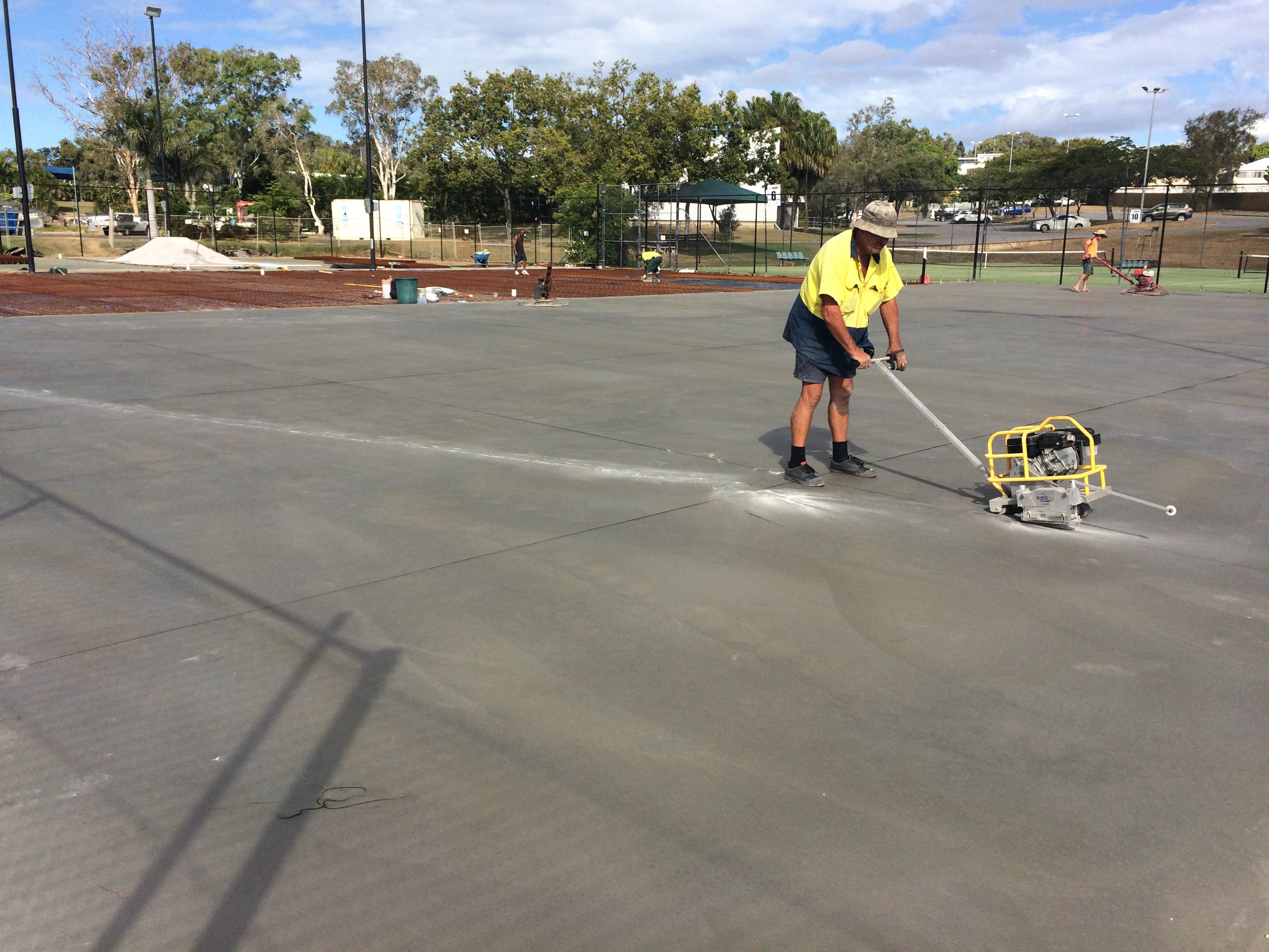 Court 7 New Slab