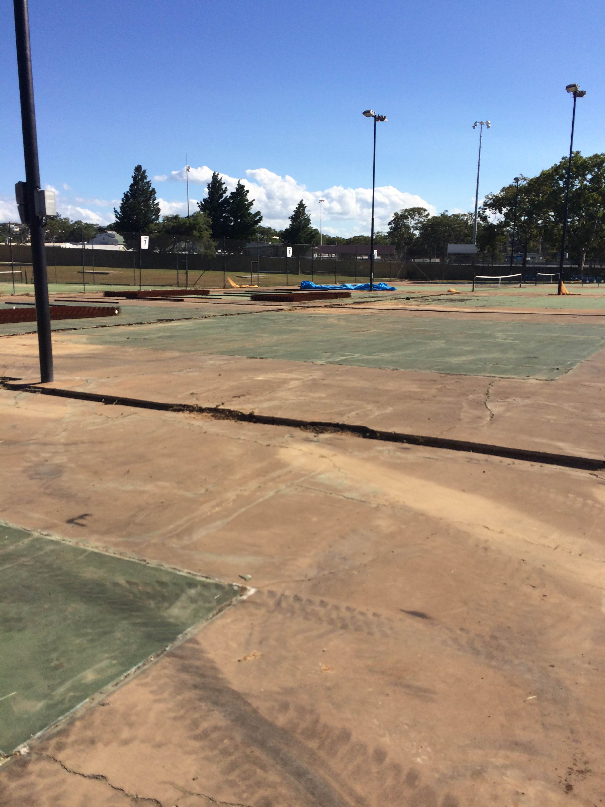 Courts 6 7 during preparation