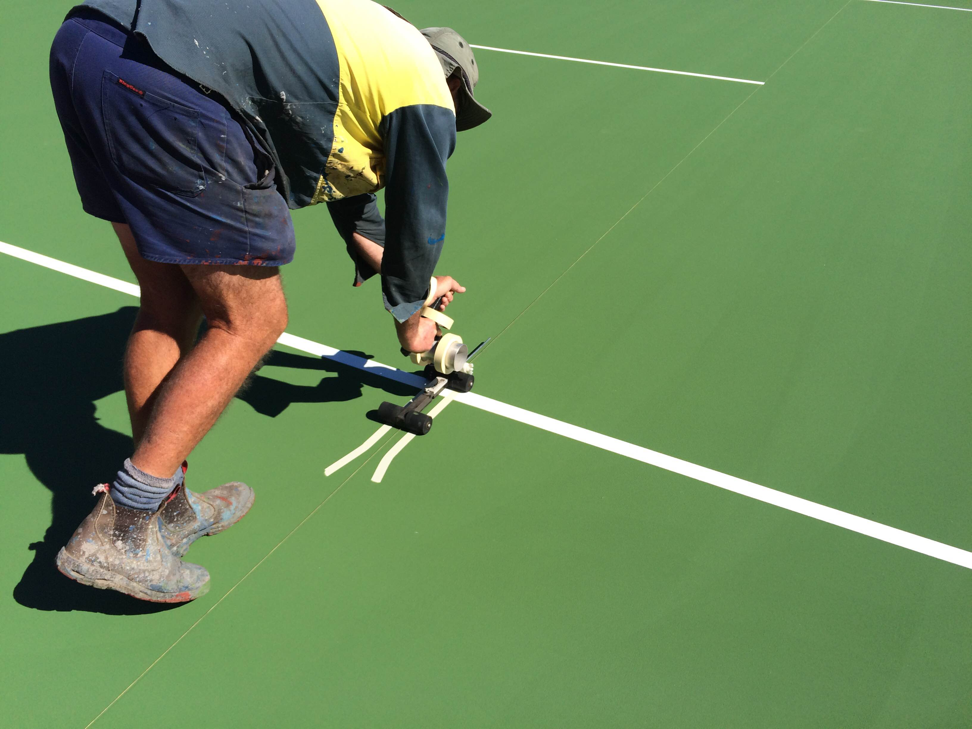 Linemarking preparations