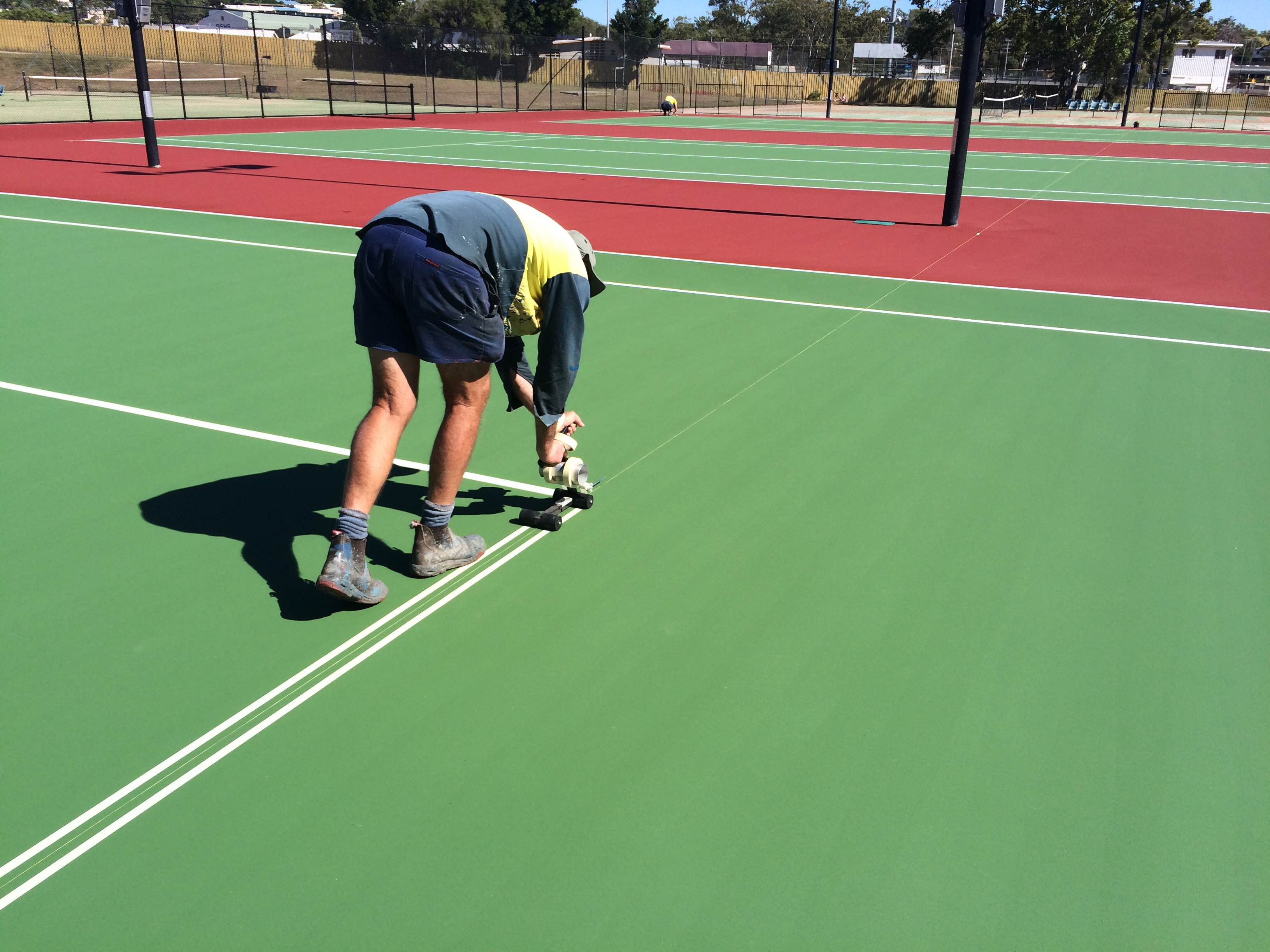 More linemarking preparations