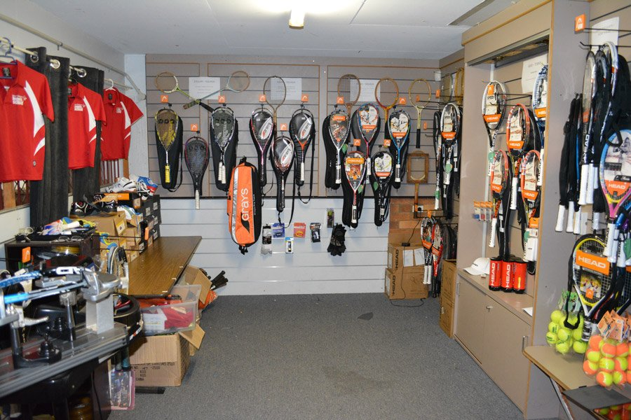 Gladstone Tennis and Squash Pro Shop
