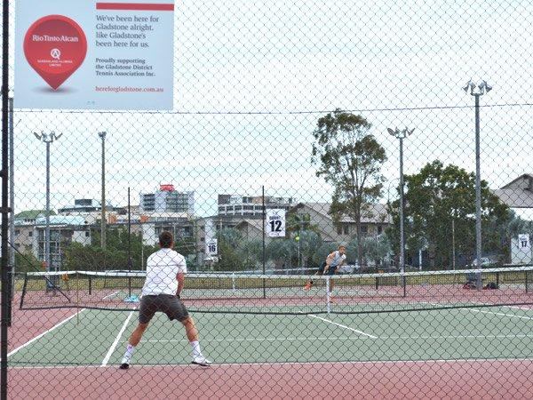 Gladstone tennis and squahs blub