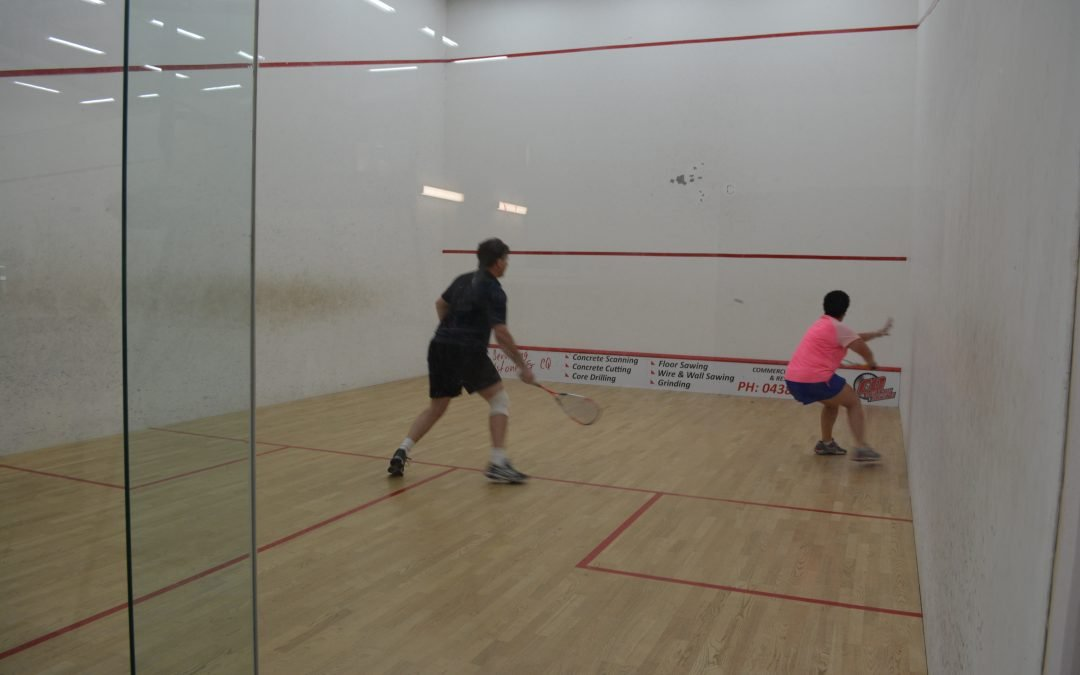 2017 Gladstone Open Squash Tournament