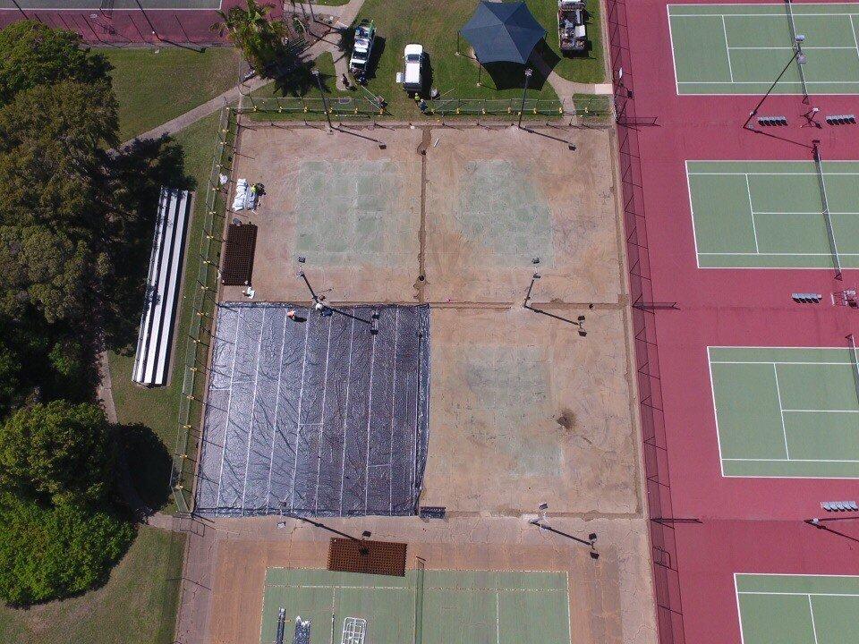 Aerial crt 2 matting