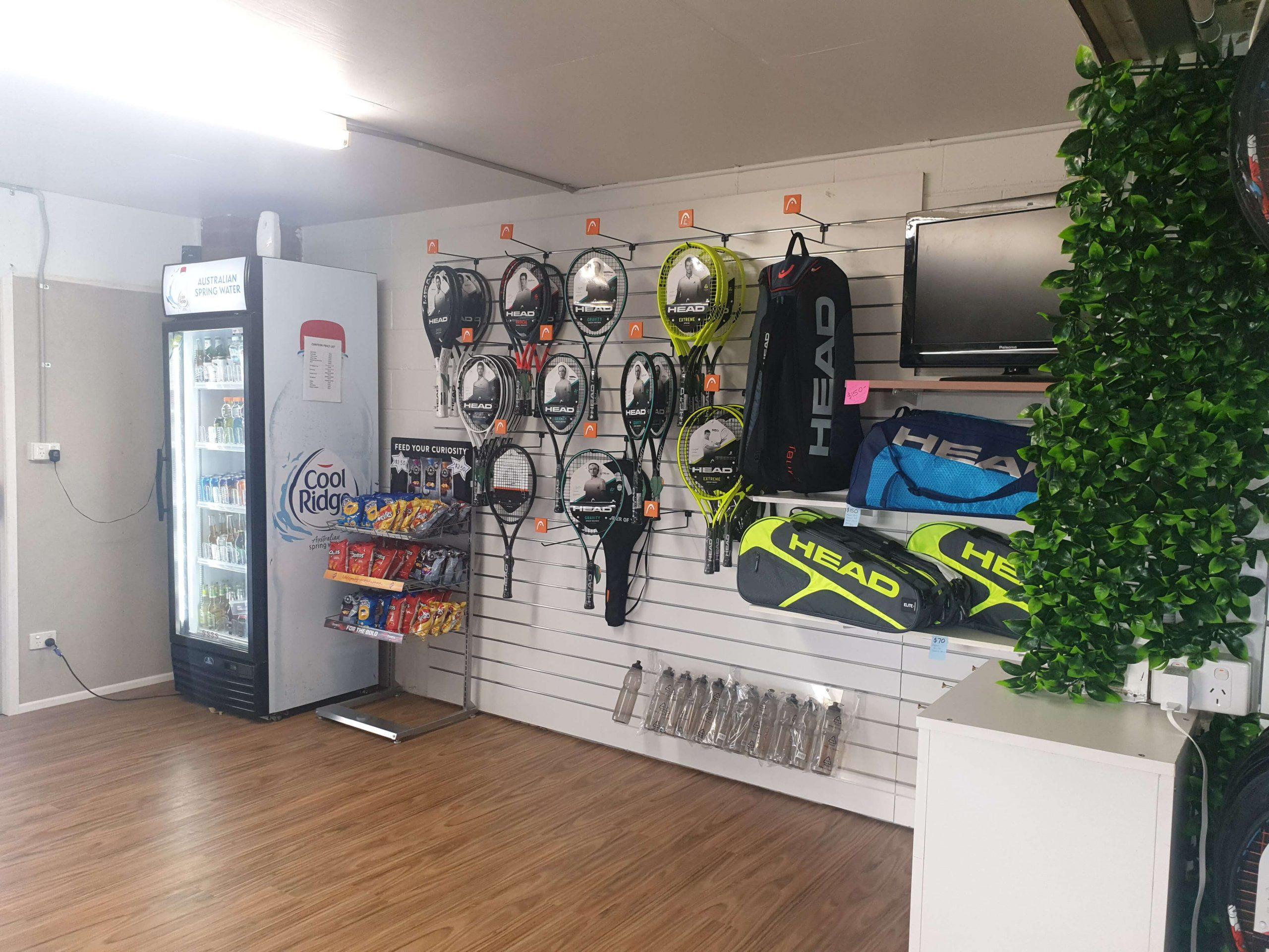 Gladstone Tennis and Squash Pro Shop