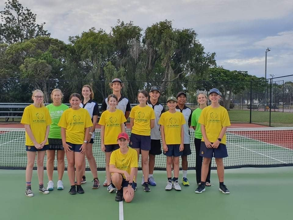 This is a photo of next gen tennis at gladstone